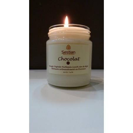 Bougie Naturelle Parfumée Chocolat Gamme M