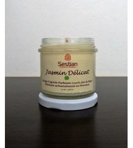 Bougie Végétale Parfumée Jasmin Délicat