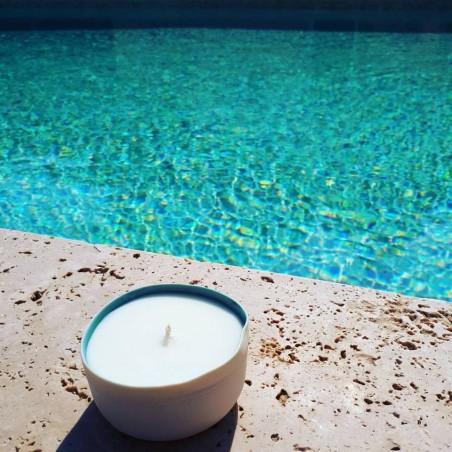 Bougie Naturelle  Parfumée Prestige Dédicace Provence : Ma Calanque
