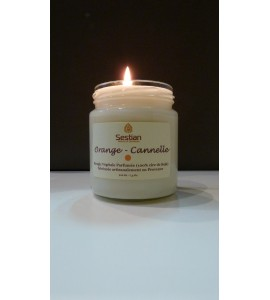 Bougie Parfumée Orange-Cannelle