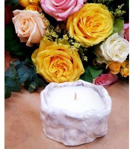 Bougie Naturelle Parfumée Bouquet Fleuri