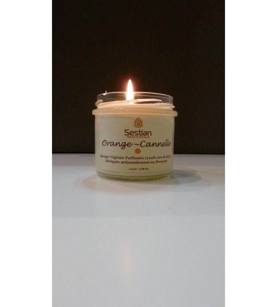Bougie Parfumée Orange-Cannelle