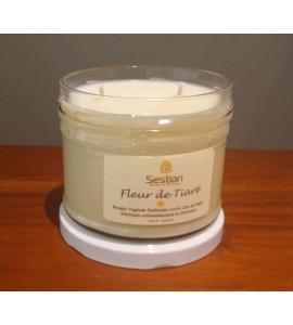 Bougie Parfumée Fleur de Tiaré XL 2 mèches