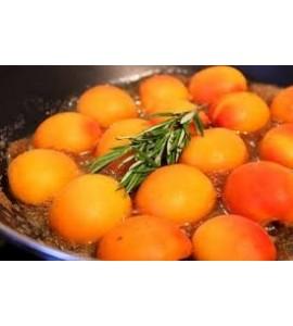 Bougie Naturelle  Parfumée Dédicace Provence : Mon Verger  Abricot-Romarin