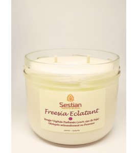 Bougie Parfumée Freesia Eclatant  XL 2 mèches