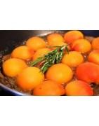 Bougie naturelle parfumée Dédicace Provence :   Abricot-Romarin